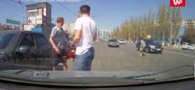 Przechodzenie przez jezdnię w Rosji