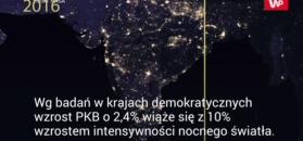 Nocne zdjęcia NASA sugerują, że Rosja, Chiny i Korea Płn. kłamią