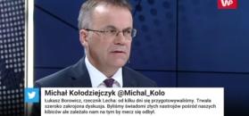 """Jarosław Sellin: kibole """"psują nam zabawę"""""""