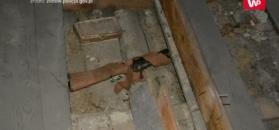 Niezwykłe odkrycie ekipy remontowej. Zobacz, co ukryto pod podłogą domu w Złotowie
