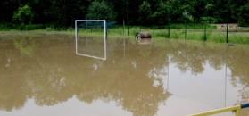 #dziejesiewsporcie: murawa polskiego klubu pod wodą