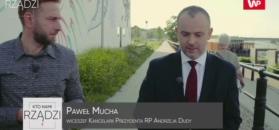 """""""Kto nami rządzi?"""". Paweł Mucha broni pomysłu Andrzeja Dudy"""