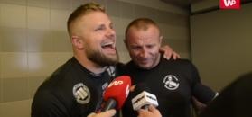 KSW 44: Pudzianowski przerwał wywiad z Bedorfem