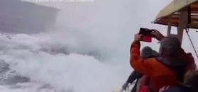 Morski gigant wyskoczył z wody