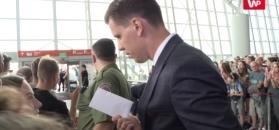 Mundial 2018. Tłumy kibiców na lotnisku pożegnały reprezentację Polski