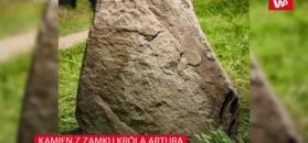 Odkryto 1300-letni kamień z inskrypcjami