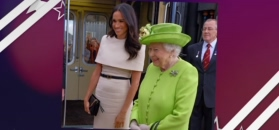 Księżna Meghan dostała prezent od królowej. To znak, że ją zaakceptowała