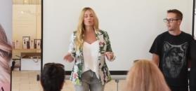 40(?)-letnia Rozenek prowadzi warsztaty urodowe