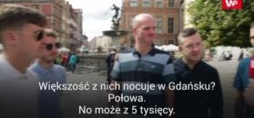 Tysiące Anglików w Gdańsku. Polska bazą wypadową