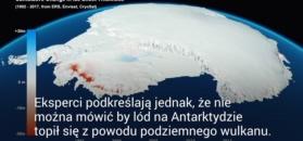 Wulkaniczne ciepło pod lodowcem. Antarktyda ujawniła swój sekret