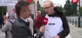 Zwolennicy zakazu aborcji zawiedzeni PiS, feministki atakują Godek. Byliśmy pod Sejmem