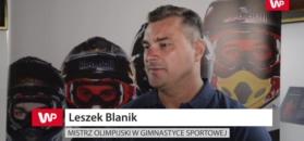 Leszek Blanik: Jak ktoś jest najlepszy, to wygrywa z każdego pola