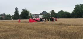 Domecko: katastrofa lotnicza. Helikopter runął na ziemię