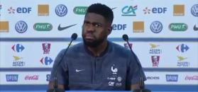 #dziejesiewsporcie: zaskoczony piłkarz kadry Francji. Chciał wyjść z konferencji