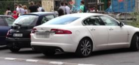 Rusin skradziono tablice rejestracyjne od Jaguara