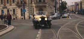 Parada czterdziestu przedwojennych Rolls-Royce'ów przejechała przez Polskę