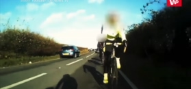 Potrącił rowerzystów i pojechał dalej