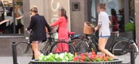 Niezadowolona Wierzbicka na wycieczce rowerowej z koleżankami