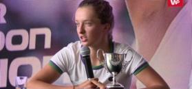 Problemy triumfatorki juniorskiego Wimbledonu przed turniejem. Świątek: