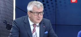 """""""Niech pan nie rżnie głupa!"""". Emocjonalna reakcja Ryszarda Czarneckiego na wpis Michała Szczerby"""