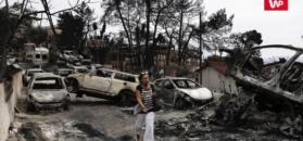 Pożary w Grecji. Rozmawiamy z polskimi turystami o zagrożeniu