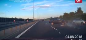 Groźny wypadek na S8