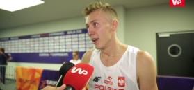 Mateusz Borkowski: Niespodzianka, szczęście i praca. W finale ucieszę się z każdego medalu