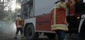 Pożarniczy Unimog U 5023 straży pożarnej w Kirchzarten