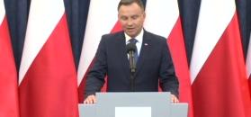 Oświadczenie Andrzeja Dudy ws. ordynacji do PE