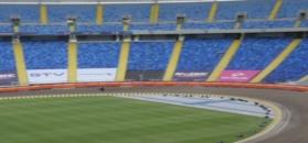 Trening żużlowy na Stadionie Śląskim w Chorzowie