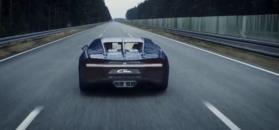 Ten Bugatti Chiron z lego jest rozmiaru prawdziwego auta. Do tego można nim jeździć