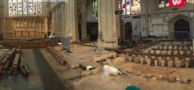 Niezwykłe odkrycie pod podłogą w opactwie. Była ukryta przez 500 lat