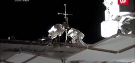 Wyciek powietrza na stacji kosmicznej