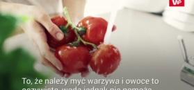 Jak pozbyć się chemii z owoców?