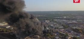 Pożar składowiska odpadów w Szczecinie. Akcja strażaków trwała 20 godz.