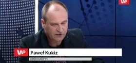 Emocjonalna reakcja Pawła Kukiza na sondaże