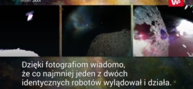 Lądowanie na planetoidzie. Japońskie roboty przesyłają zdjęcia