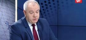 Jacek Sasin o zdjęciu Duda-Tusk. Nerwowa reakcja na pytanie dziennikarza