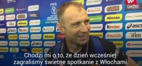 MŚ 2018. Trener Serbów o awansie dowiedział się od naszego dziennikarza. Tak tłumaczył porażkę z Polską