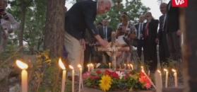 Indyjski władca pomógł sierotom z Polski. Ocaleni odwiedzili groby zmarłych kolegów