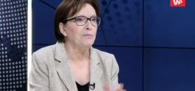 Ewa Kopacz z nadspodziewaną werwą o Donaldzie Tusku
