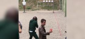 #dziejesiewsporcie: Mayweather strzelał w Czeczenii