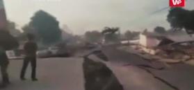 Oficjalna liczba ofiar sięga niemal 2 tysięcy i wciąż rośnie. Przerażające nagranie świadka z Indonezji