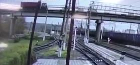 Runął most samochodowy w Rosji. Nagranie momentu katastrofy