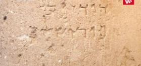 Podpis sprzed 2 tys. lat. Niezwykłe odkrycie w Jerozolimie
