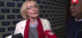Krystyna Krzekotowska po debacie.