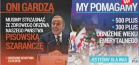 """Schetyna o """"pisowskiej szarańczy"""". Jest reakcja partii"""