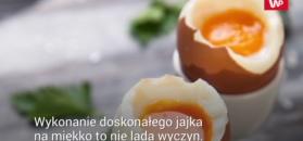 Sekret idealnego jajka na miękko. Uważaj, żeby nie przekroczyć czasu