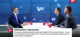 Premier Mateusz Morawiecki o dzieciach polityków. Czy czyta Pudelka?