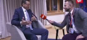 Mateusz Morawiecki w Brukseli. Rodzina premiera o sobie przypomina